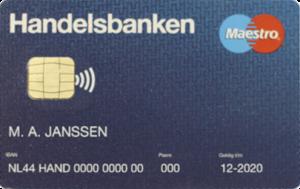 Kaart Handelsbanken