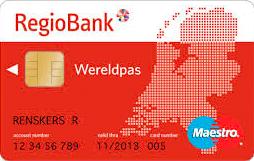 Kaart Regiobank