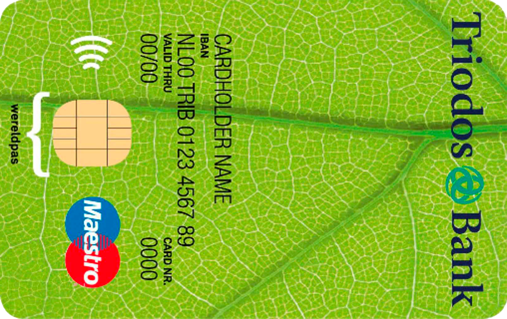 Kaart Triodos Bank
